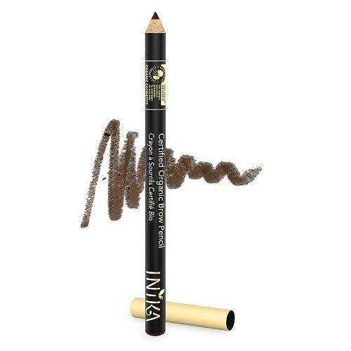 INIKA Organic Brow Pencil - Dark Brunette 1.5gr