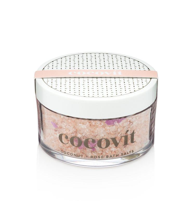 Cocovit Kokosnuss + Rose Badesalz 200ml
