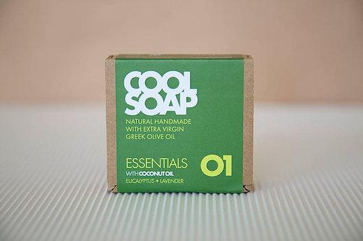 Cool Soap No.01 Eucalyptus-Lavendel 90gr
