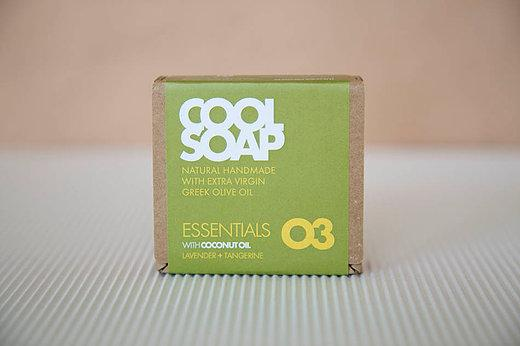 Cool Soap No.03 Lavendel-Mandarine 90gr