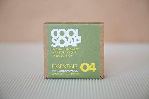 Cool Soap No.04 Eisenkraut-Jasmin 90gr