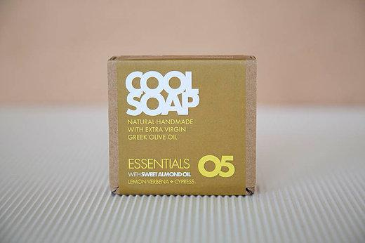 Cool Soap No.05 Eisenkraut-Zypresse 90gr