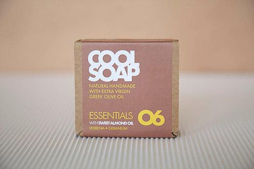 Cool Soap No.06 Eisenkraut-Geranie 90gr