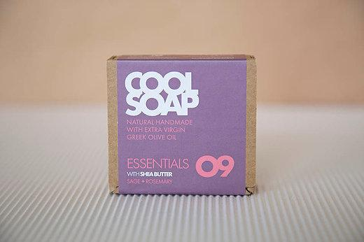 Cool Soap No.09 Salbei-Rosmarin 90gr