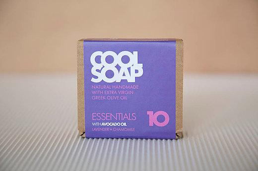Cool Soap No.10 Lavendel-Kamille 90gr