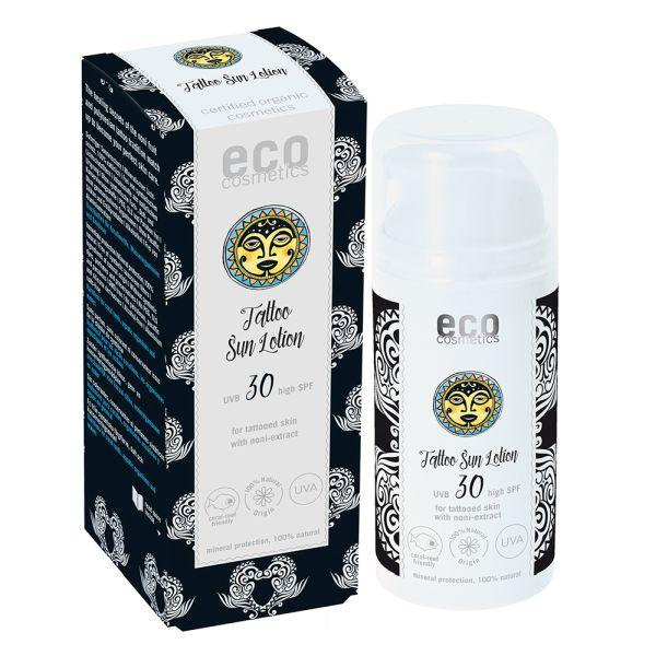 eco cosmetics Tattoo Sonnencreme LSF 30 - 100ml