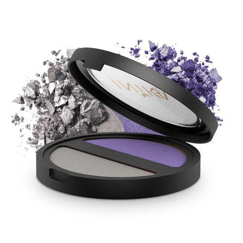 INIKA Pressed Mineral Eye Shadow - DUO Purple Platinum
