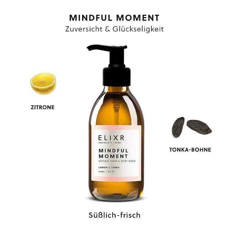 ELIXR MINDFUL MOMENT Natural Hand & Body Wash 230ml
