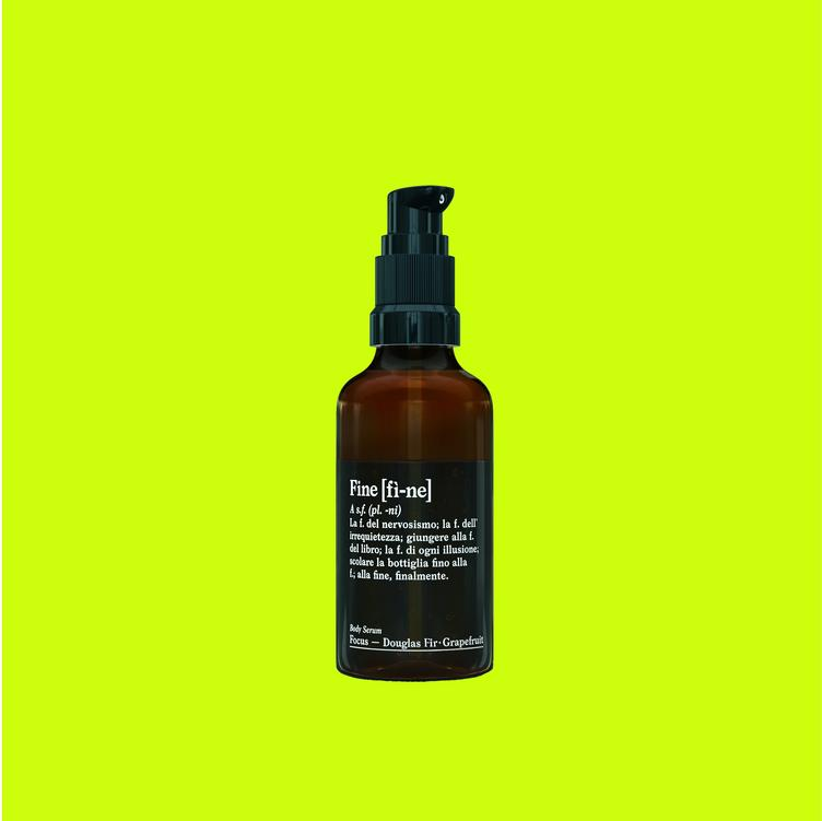 FINE BODY SERUM FOCUS DOUGLAS FIR-GRAPEFRUIT 50 ML