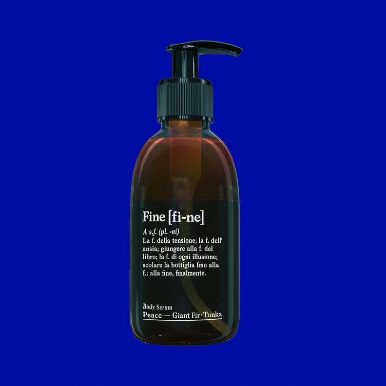 FINE BODY SERUM PEACE GIANT FIR-TONKA 200 ML