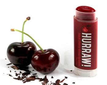 HURRAW! Black Cherry Lip Balm 4.3gr