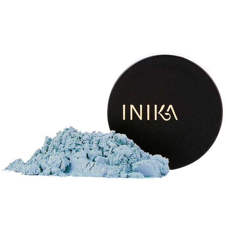 INIKA Mineral Eye Shadow - Blue Topaz