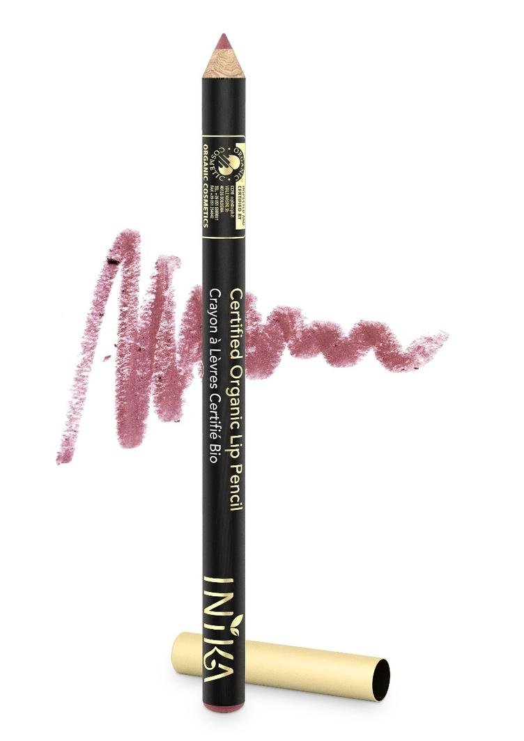 INIKA Organic Lip Pencil Dusty Rose 1.2gr