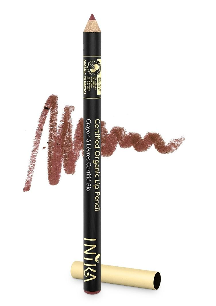 INIKA Organic Lip Pencil Sugar Plum 1.2gr