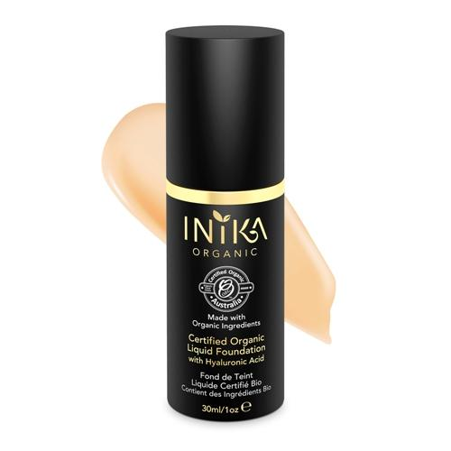 INIKA Certified Organic Liquid Foundation - Beige 30ml