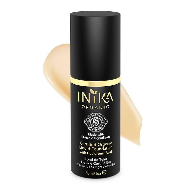 INIKA Certified Organic Liquid Foundation - Cream 30ml