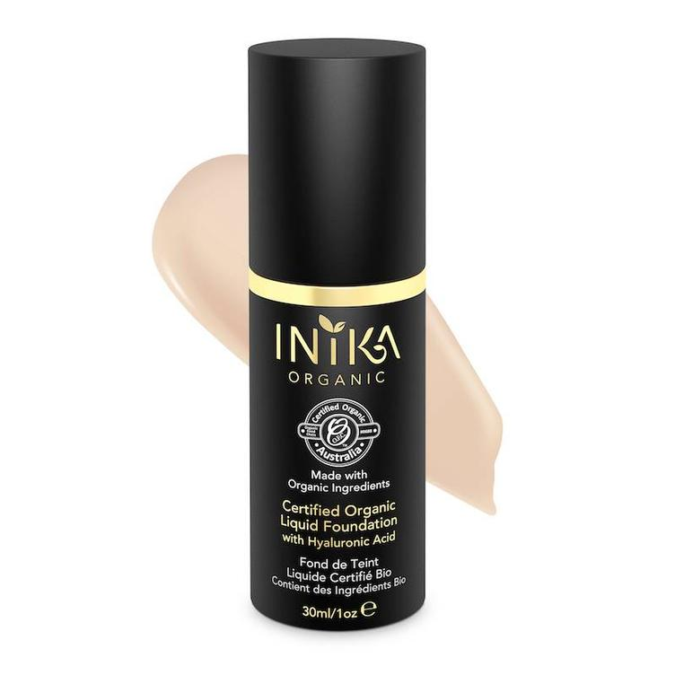 INIKA Certified Organic Liquid Foundation - Porcelain 30ml