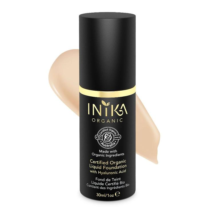 INIKA Certified Organic Liquid Foundation - Nude 30ml