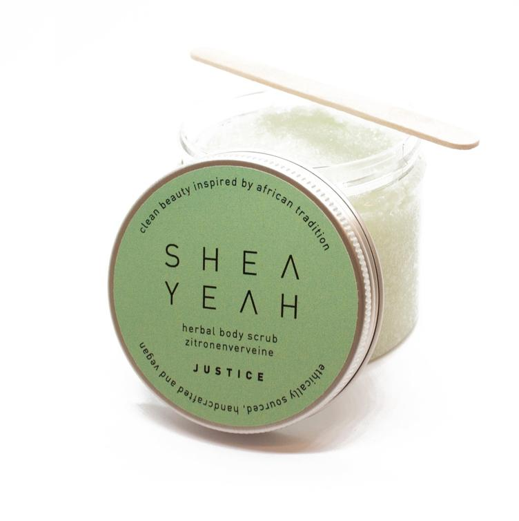 SHEA YEAH BIO Herbal Body Scrub JUSTICE 200ml