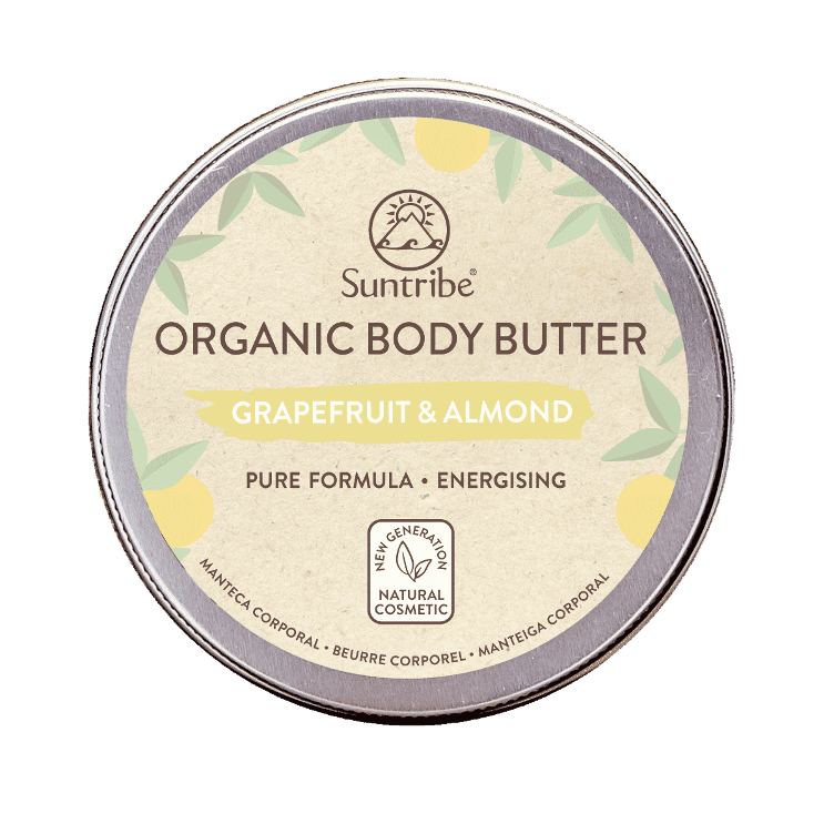 SUNTRIBE BIO-BODY BUTTER Grapefruit & Mandel 150ml