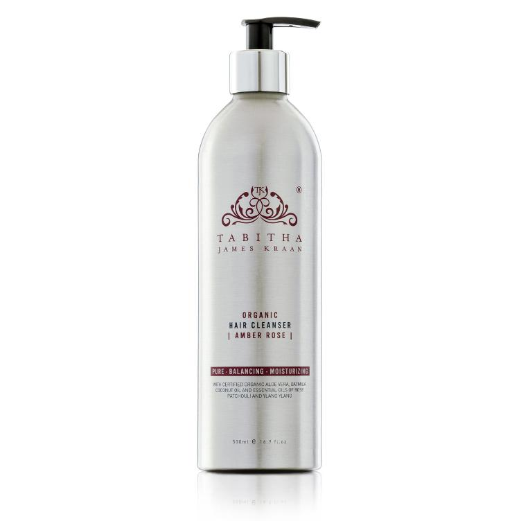 Tabitha James Kraan - Hair Cleanser SALON Amber Rose 500ml